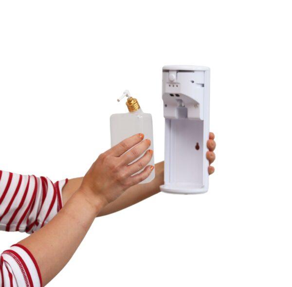 Alfan käsidesiautomaatti